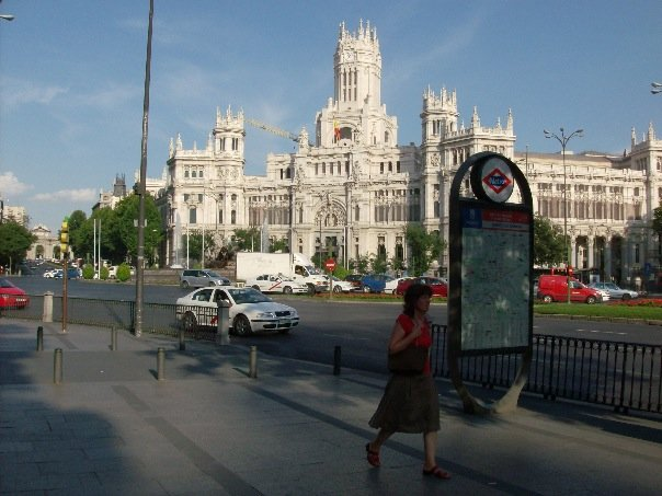 Madrid Post Office Spain